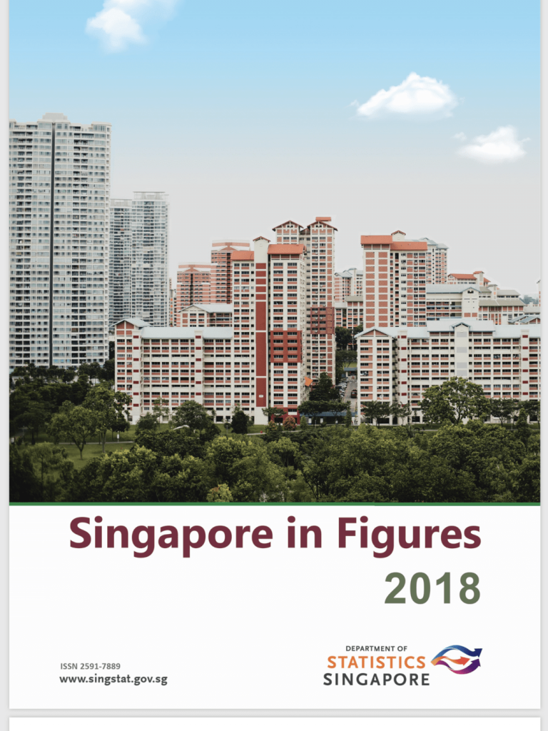 9 Important numbers from Singapore in Figures 2018 - Ontrack sg