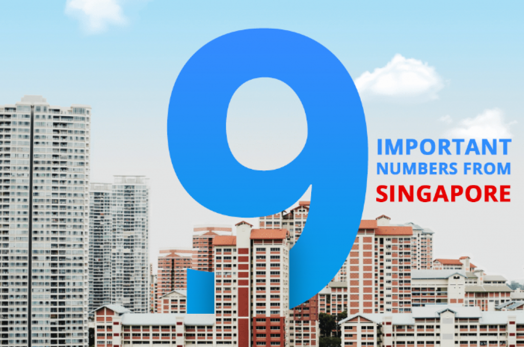 9 important numbers in Singapore